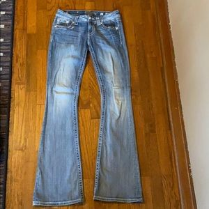 Miss Me flare/boot cut jeans